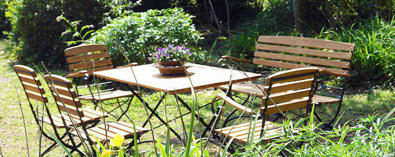 Mobilier de jardin en Robinier faux-acacia, Salon de jardin, Prix de ...