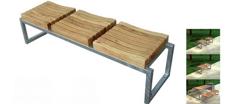 Mobilier exterieur robinier for Mobilier exterieur bois