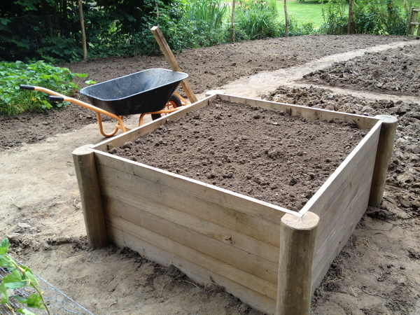 Potager En Carr Tuteurs En Robinier Carr S Point S