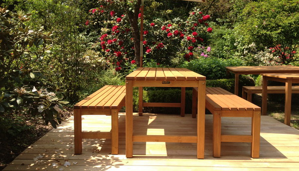 Awesome Salon De Jardin En Acacia Robinier Gallery - House ...
